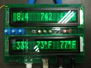 Double LCD meter