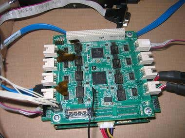 Multi serial port board configuration and management