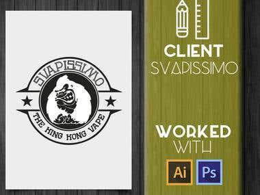 Logo Branding Design - Svapissimo.com