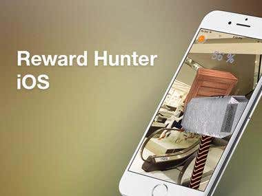Reward Hunter iOS app