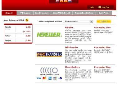 Payment Processing ASP.NET MVC C# AJAX WCF Microsoft SQL