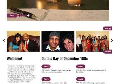Wedding Website, US