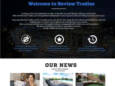 Website - Tradie Reviews