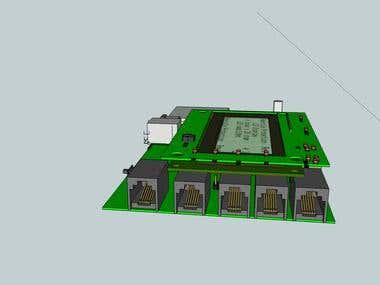 Sensor board modelling