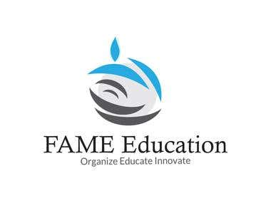 Fame Education Logo Design