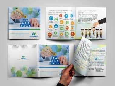 Brochure Design for a Hiring Solutions Agency
