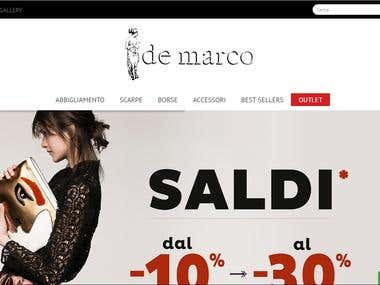 Demarco Boutique - Responsive Ecommerce