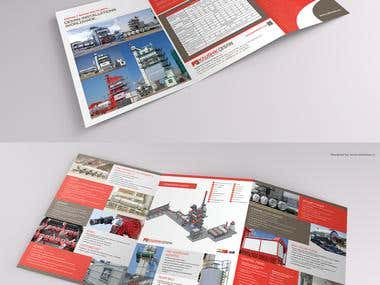 Brochure Design for a Engineering Company