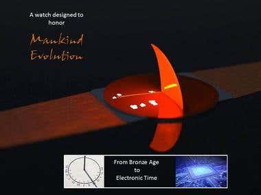 Mankind Digital Watch / SPARK Design Award Finalist