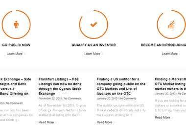 Stock exchange trends website