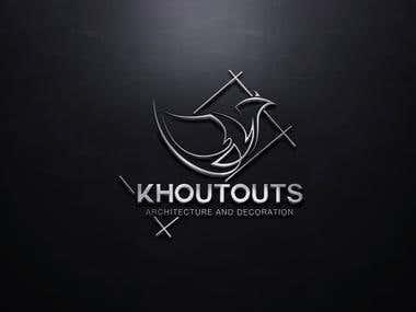 Design a logo (KHOUTOUTS)