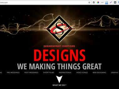Website Design and development(Wordpress)