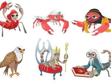 vectorial characters