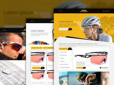 Rudy Project Web Design