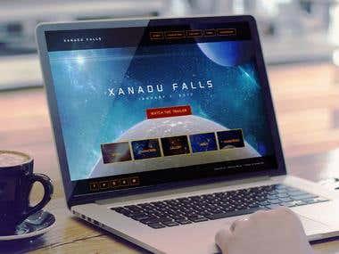 Xanadu Falls Website