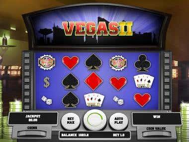 Online casino game graphics.