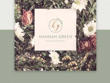 Logo for young  photographer