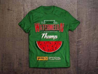 T-Shirt for Watermelon Thump Fest in Texas
