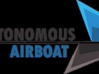 Autonomous Airboat Logo
