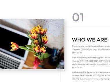 Market Company Website