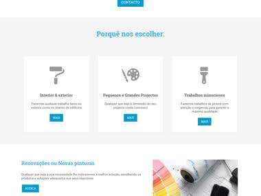 Simple CMS website