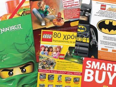 LEGO materials