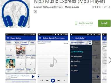 Mp3 Music Express (Mp3 Player)