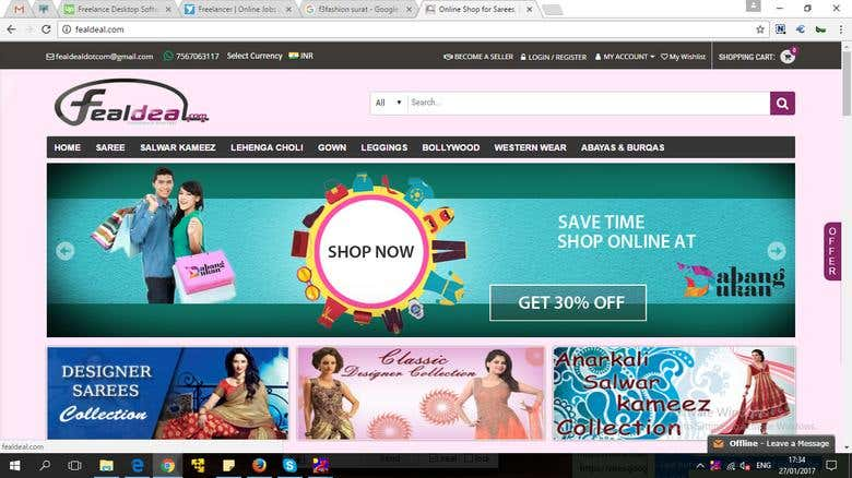 Multivendor eCommerce Site ( FealDeal com) | Freelancer