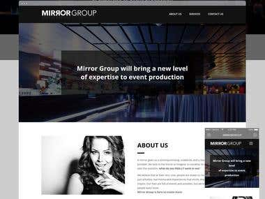 MirrorGroup: Company Website