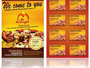 FLYER DESIGN FOR PIZZA SHOP