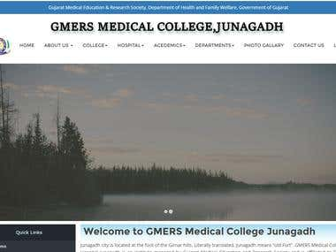 Medical College Website