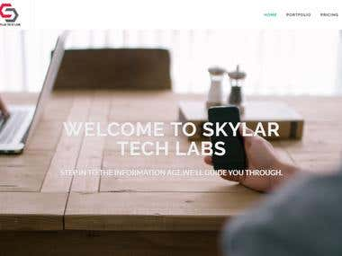 WEB-SITE( SKYLARTECHLABS)