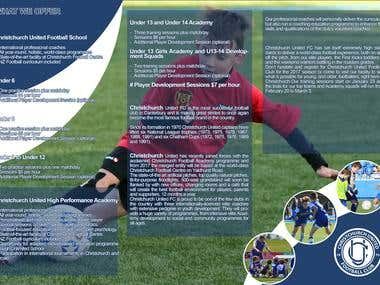Sport club brochure design