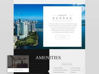 Elyse Miami / Website