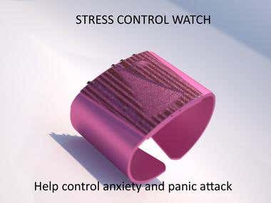 Stress Control Watch /iF Award Design Guide