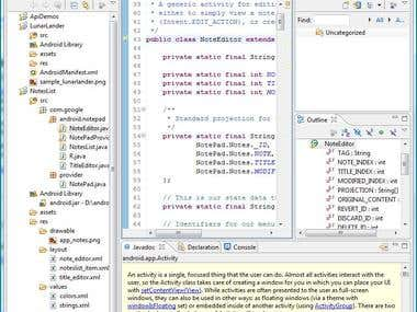 Android Programming..........!