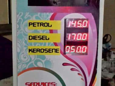 Smart Fuel Price Display