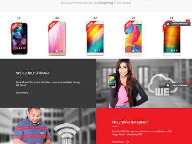 PSD to HTML http://www.we.net.bd