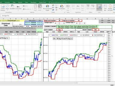 Excel Based Stock Analysis Software