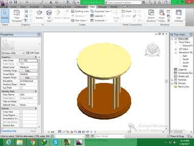 Tea Chair 3d Screen shot