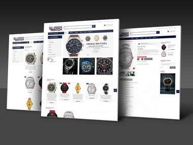 E-Commerce Watch selling Wordpress