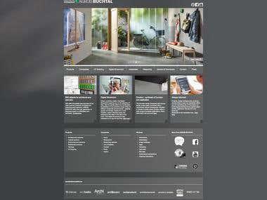 Website for Agrob Buchtal