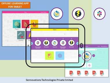 ANDROID TABLET APP E-LEARNING