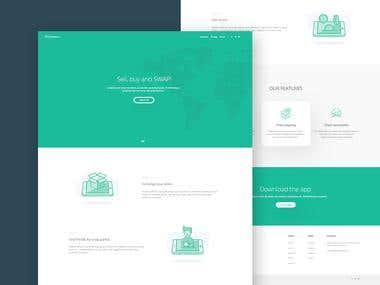 Website design - Soloscambio