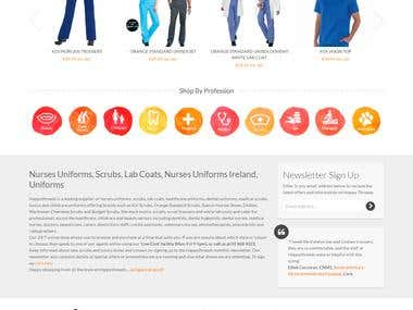 Magento happythreads website