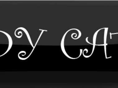 Targeta y Logo titulo Ladycatblue