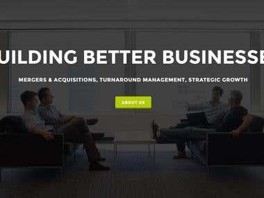Customized Wordpress Site