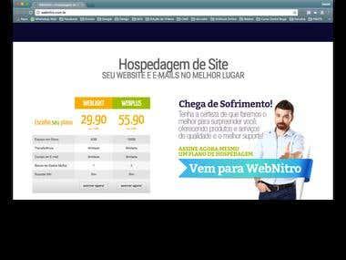 WebSite WebNitro em WordPress