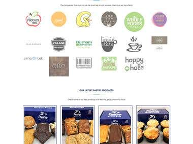 JP's Pastry - eCommerce