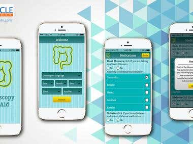 An app for Colonoscopy